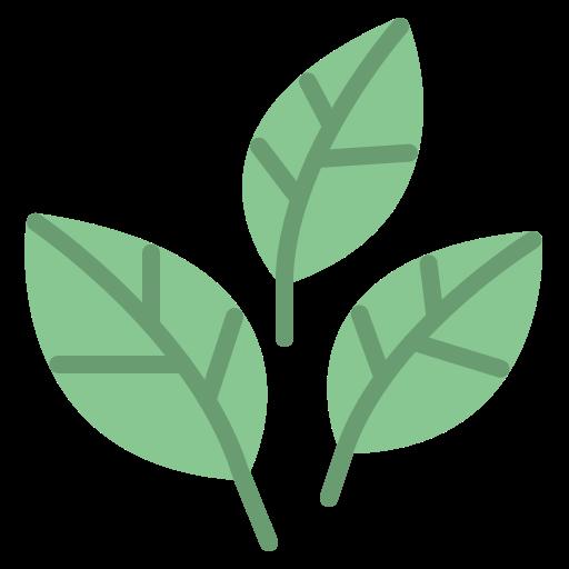 Icône représentant trois feuilles